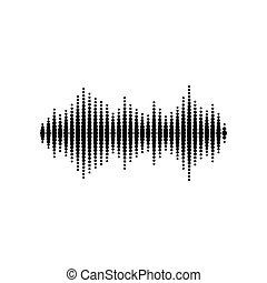 Sound or audio wave