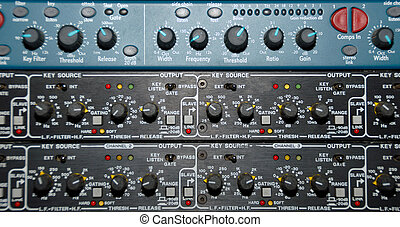Sound Recording Equipment (Media Equipment) - Audio effects...