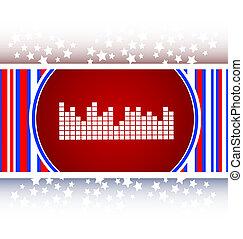 sound round web glossy icon