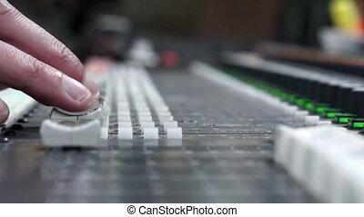 Sound sliders