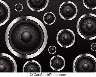 speakers background. sound speaker background speakers