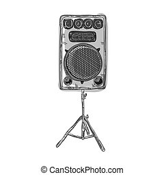 sound speaker stereo system