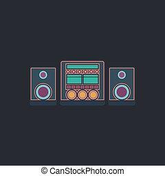Sound System computer symbol