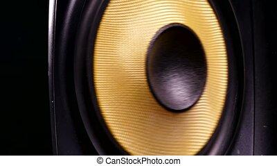 sound vibration music speaker recording studio