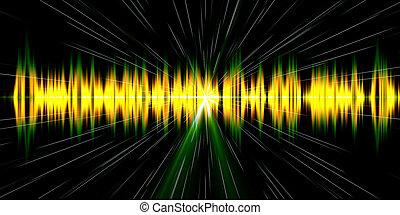 sound wave digital