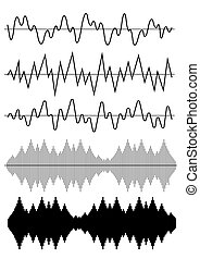 Sound Wave Icon Set