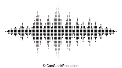 sound waves illustrations and stock art 23 991 sound waves rh canstockphoto com sound waves clipart Sound Wave Graphic