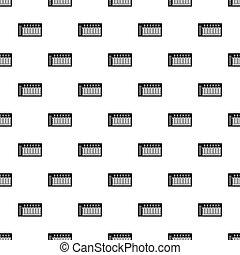 Sound waves pattern vector