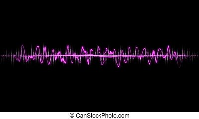 Sound waves - Spectacular sound waves with different ranges.