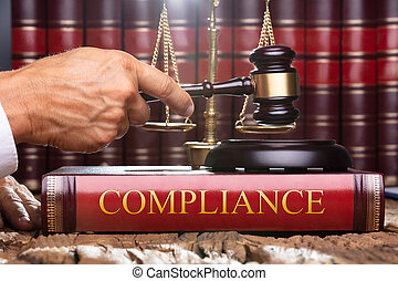 soundboard, conformidade, juiz, livro, gavel, lei