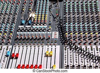 soundboard, misturador