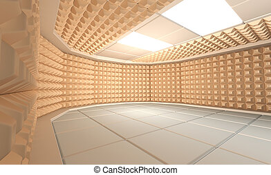 soundproof, sala