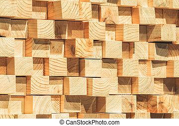 soundproofing, de madera, primer plano
