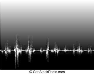 Soundwave - Illustration of a soundwave. Available in jpeg ...
