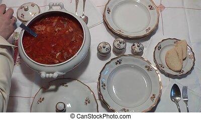 soup - borscht