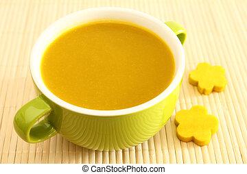 soup., calabaza