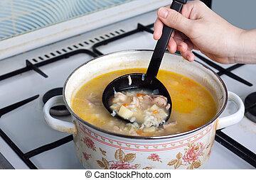 Soup food