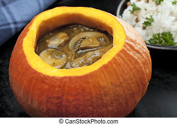 Soup in a Pumpkin