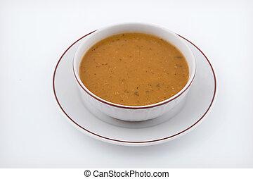 Soup - Lentil soup image.