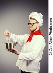 soupe, cuit