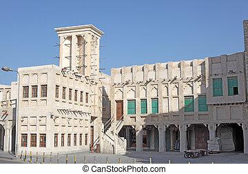 Souq Waqif in Doha. Qatar, Middle East