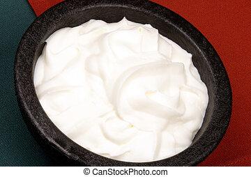 sour cream - perfectly made mexican guacamole, sour cream...