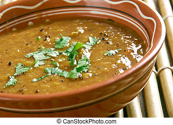 Sour Lentils  - Hyderabadi Khatti Dal.Hyderabadi Cuisine.