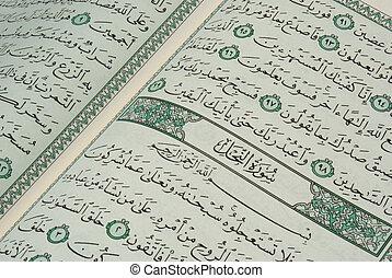Sourat Al Nahel - A closeup on the title of sourat al nahel...