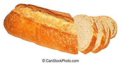 Sourdough Bloomer Bread Loaf - Fresh crusty sourdough...