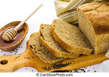 sourdough, bread