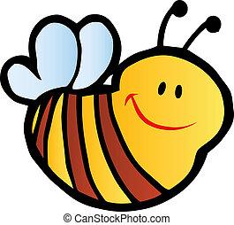 sourire, abeille
