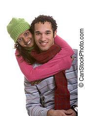 sourire, couple