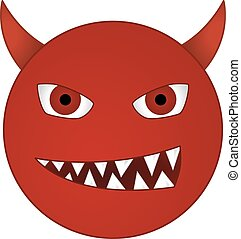 Emoticon diable vecteurs search clip art illustration drawings and eps graphics images - Emoticon diable ...