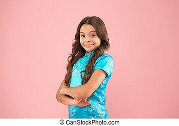 sourire, refers, style, usure, culturel, gens, cultures., oriental, eux-mêmes, diversity., usage, others., clothes., concept, girl, explorer, différent, diversité, confirmer, respect, attributes, peu