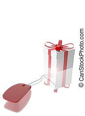 souris, informatique, connecté, cadeau