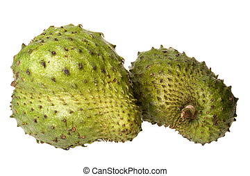 Soursops Close-Up - Isolated close-up image of soursops.