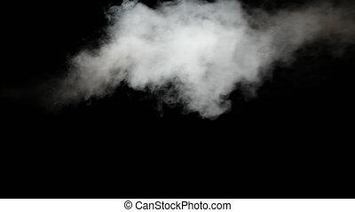 sous, arrière-plan., vapor., vapeur, pression, blanc, jet, ...