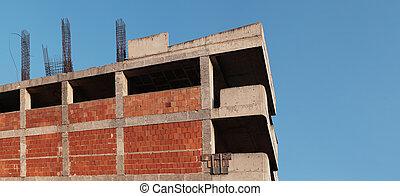 sous, construction bâtiments