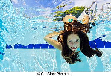 sous-marin, girl