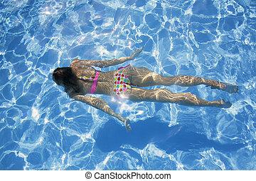 sous-marin, nageur