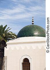 sousse, tunesien, moschee, kuppel, afrikas