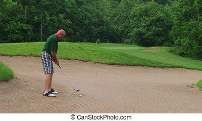 soute, golfeur, usages, cale