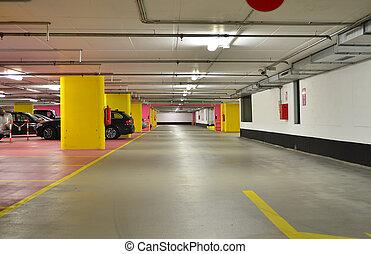 souterrain, garage