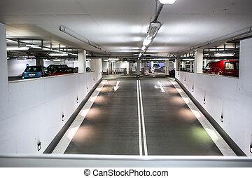 souterrain, parking/garage