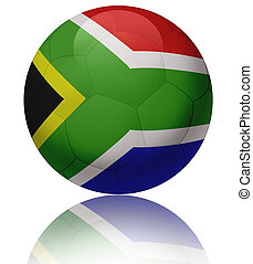 South Africa flag ball