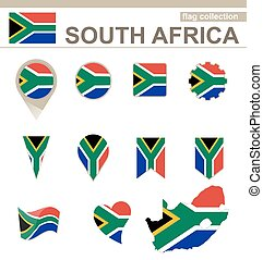 South Africa Flag Collection
