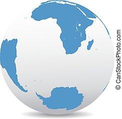 South Africa, Madagascar South Pole - South Africa,...