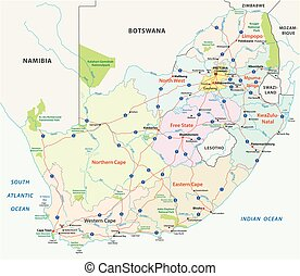 south africa road map