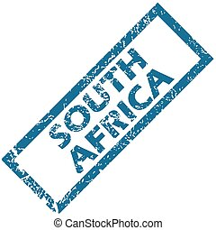South Africa rubber stamp