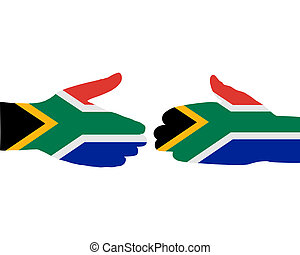 South African handshake